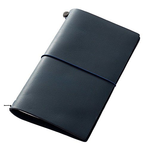 Midori Traveler's Notebook Blue Leather