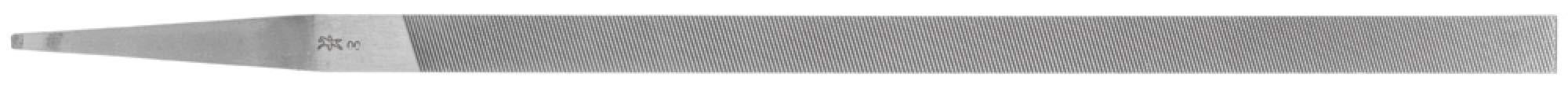 PFERD 12735 10'' Pillar Narrow File Swiss Pattern, Cut 00 (12pk)