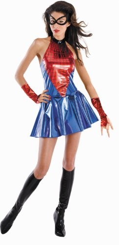 Child Deluxe Spidergirl Costumes (Deluxe Spider-Girl Adult Costume - Medium)