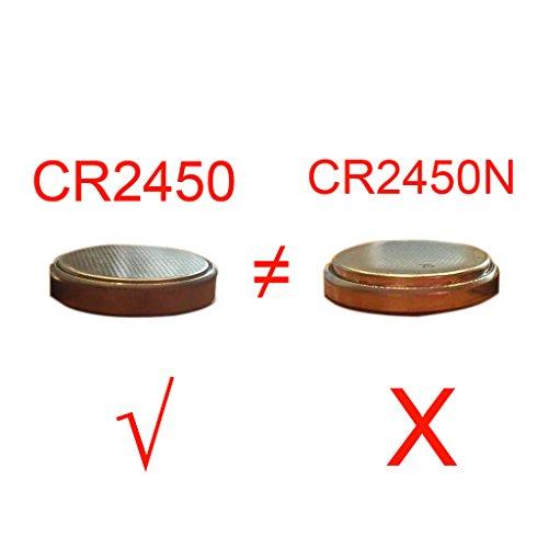 Bulk-CR2450-3V-Lithium-Battery-for-Candles-Remotes-CELEWELL-not-CR2450N