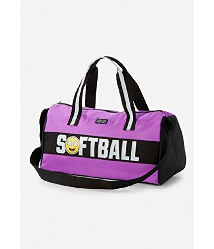 Justice For Girls Softball Sports Emoji Duffle Bag]()
