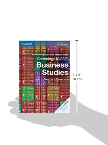 Cambridge IGCSE® Business Studies Teacher's Resource CD-ROM (Cambridge International IGCSE)