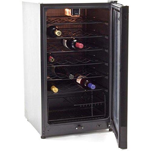Midea 35 Bottle Single Zone Freestanding Wine Refrigerator by Equator