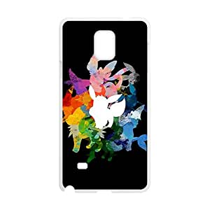 Creative Watercolor Animal Pattern Fahionable And Popular Back Case Cover For Samsung Galaxy Note4