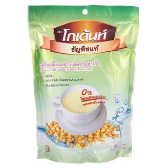 - Godent Instant Corn Cereal Natural Flavoured Breakfast Cereal Low Fat 0% Cholesterol 10pcs X 30g By Thaidd