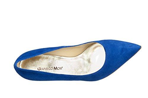 Blu Cleavage Women's Elettrico Closed Gianrico Mori twPqnIx6g