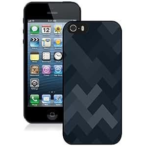 Beautiful Custom Designed Cover Case For iPhone 5s With Dark Geometrix Phone Case