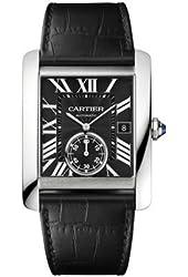 Cartier Tank MC Men's Automatic Black Dial Watch - W5330004