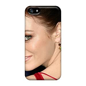 New Hard Cases Premium Iphone 5/5s Skin Cases Covers(emma Stone In Zombieland)