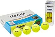 Volvik Crystal Green Golf Balls 12-Ball Pack