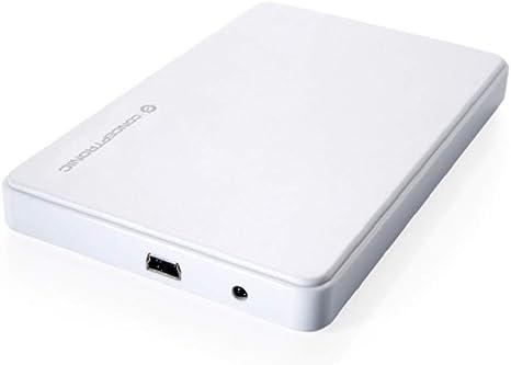 Conceptronic C20-251 Caja Disco Duro 2.5 Pulgadas Mini, Blanco ...