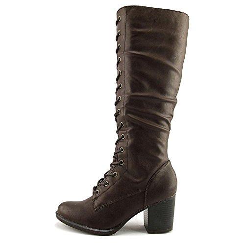Womens Chocolate American Boots Rag High Lorah Toe Closed Knee Fashion q615z6w