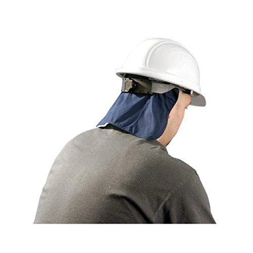 Hard Hat Cooling Pad Deluxe with Neck Shade - Navy (Hard Hat Cooling)
