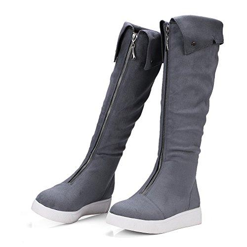 BalaMasa  Abl09492, Sandales Compensées femme - Gris - gris,