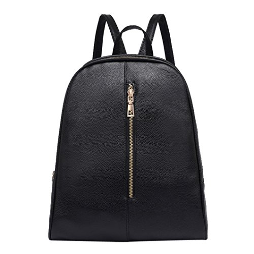 Promotion Backpack School Bag,Rakkiss Preppy Style Zipper Mochila Woman Leather Rucksack Shoulder Bag Female Backpack -