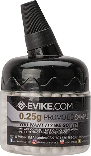 (Evike 0.25g Max Precision 6mm Airsoft BB 500 Round Promotional)