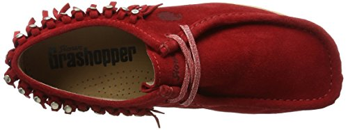 Fire 03 para d161 Rojo Grash Sioux Mujer Mocasines wBzPPq
