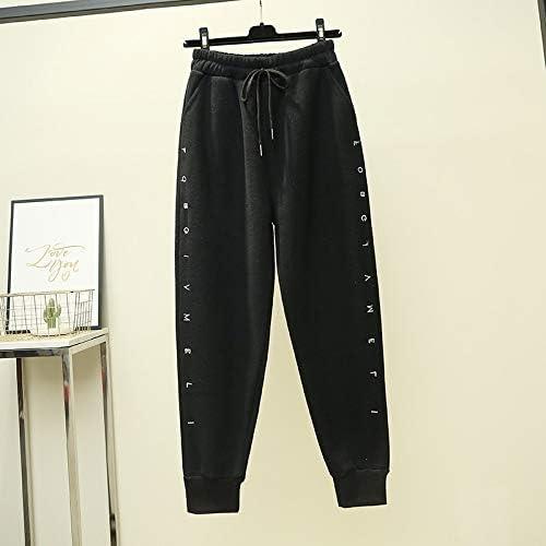 Pantalones de mujer pantalones de harén cálidos de otoño e ...