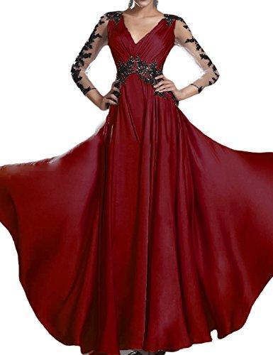 evening dresses 3 4 length - 1