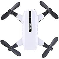 Owill L200 2.4GHz Mini Foldable Quadcopter Pocket Remote Control Helicopter RC Drone Without Camera, Great for Beginners (White)