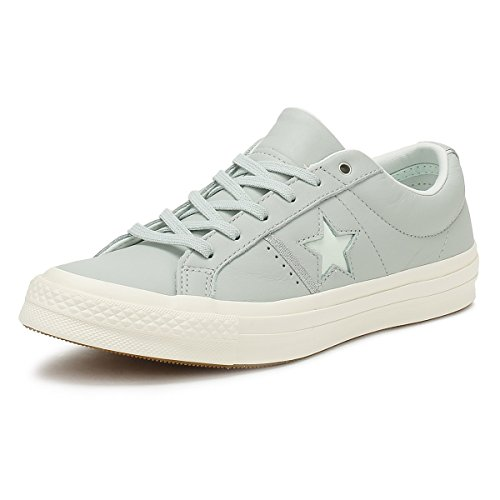 Converse One Star Mujer Dried Bamboo Azul/Plata/Egret OX Zapatillas