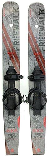 sporten Free Walk Backcountry XC Skis with Skins & Universal Bindings