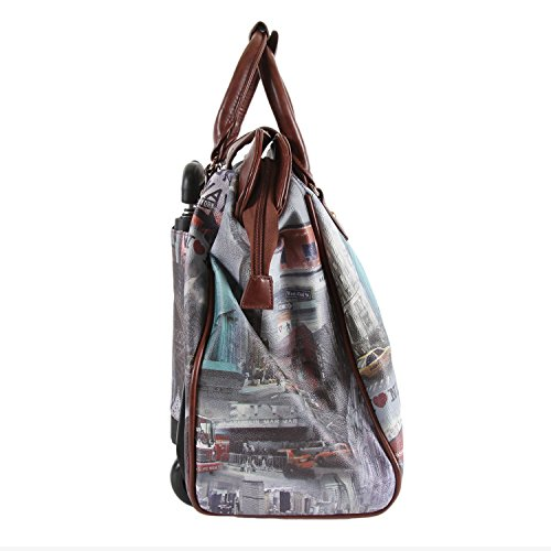Nicole Lee Rolling Business Tote, New York, One Size by Nicole Lee (Image #7)