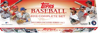 2013 Topps Baseball Complete Factory Set - Includes 665 Cards - Hobby Edition - Mint Condition