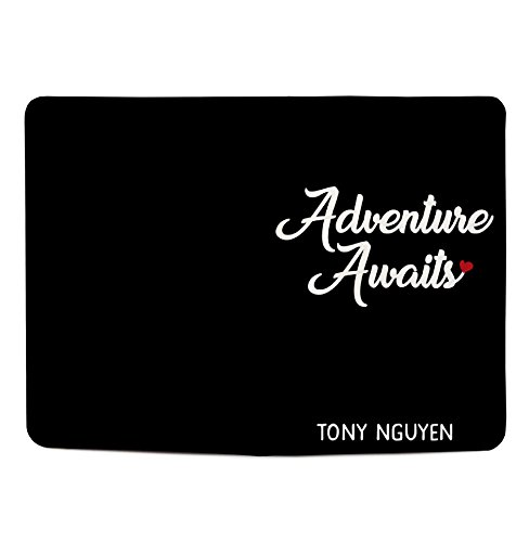 Adventure Awaits - Couple Passport Holder Personalized Passport Cover Set of 2 by With Love From Julie (Image #2)