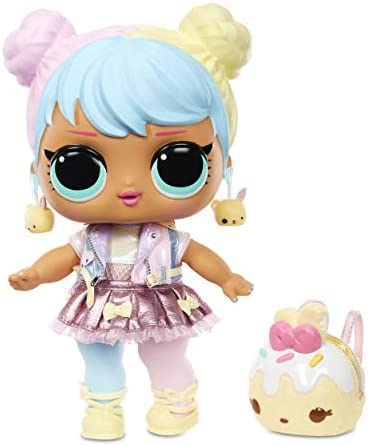 """LOL Surprise Big B.B. (Big Baby) Bon Bon – 11"""" Large Doll, UNbox Fashions, Shoes, Accessories, Includes Playset Desk, Chair and Backdrop"""