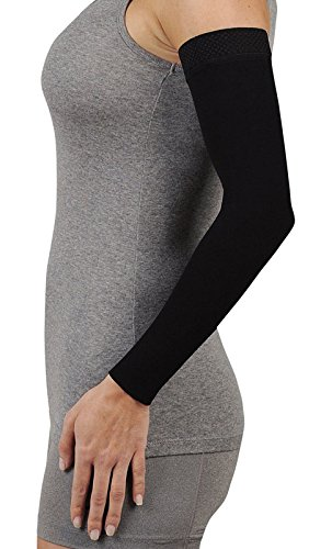 008dcaa422 Juzo Soft 2001CG Armsleeve 20-30mmHg w/ Silicone Top Band Model: 2001MXCG -