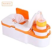 Bela Beno Baby Wipe Warmer and Bottle Warmer Home and Car Use 2 in 1 Multi-purpose Safe Voltage (By