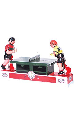 Alexander Taron Importer MS358 Collectible Tin Toy with Ping Pong Players, 5