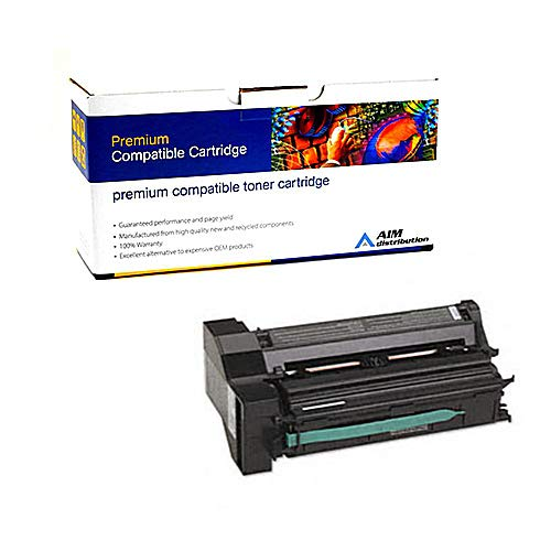 (AIM Compatible Replacement for Lexmark C750/X750 Black Toner Cartridge (15000 Page Yield) (10B041K) - Generic)