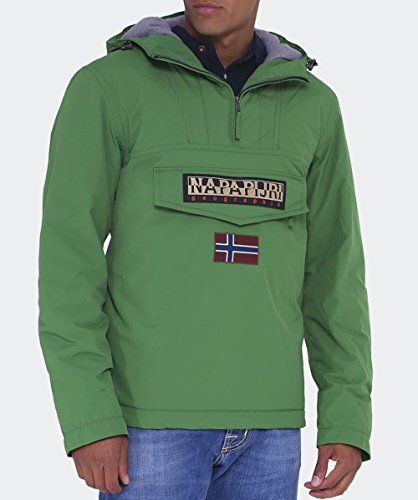 Homme Napapijri Blouson Winter Green Fresh A Rainforest rSq6xSI