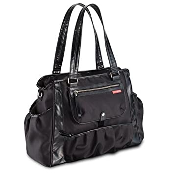 f036497f9e14 Amazon.com : Skip Hop Studio Diaper Tote Bag, Black (Discontinued by  Manufacturer) : Baby