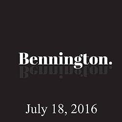 Bennington, July 18, 2016