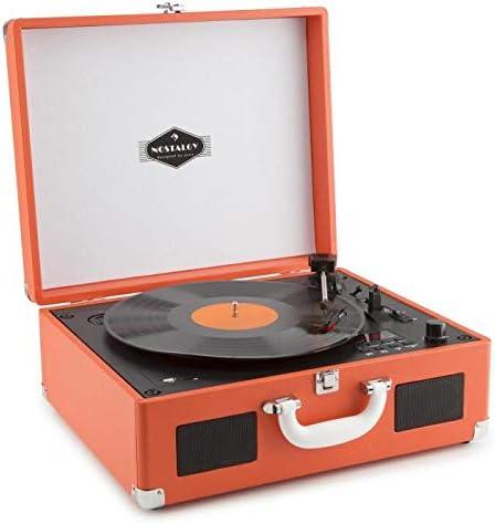 auna Peggy Sue CD - Tocadiscos Retro , Fonocaptor , Reproductor de ...