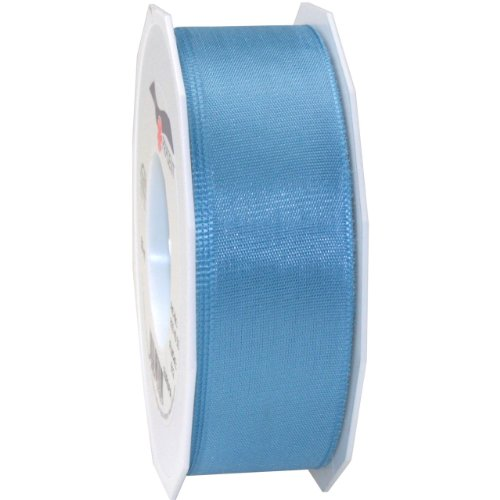 Morex Ribbon Europa Taffeta Ribbon, 1-1/2-Inch by 55-Yard Spool, Light Blue