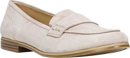 Naturalizer Womens Veronica Loafer Grey Suede Us 8 5 M