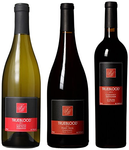 Trueblood Variety Wine Mixed Pack, 3 x 750 mL