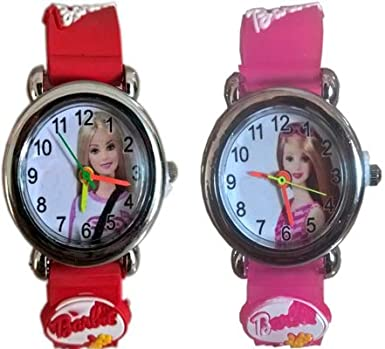 61e3c7261 Buy Rana Analogue White Dial Girl s Watch (Kids Combo Watch Analog Red and  Palepink) Online at Low Prices in India - Amazon.in