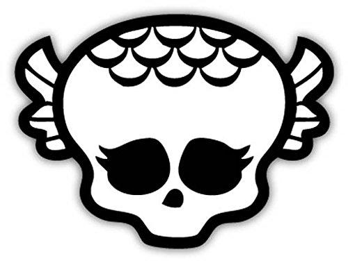 Monster High Lagoona Skull sticker decal 5