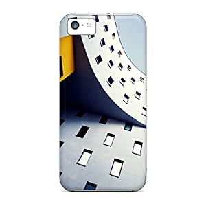 Hot RKyjmdw8572XJRuc Case Cover Protector For Iphone 5c- Twist Building