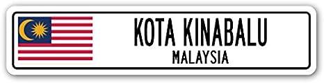 Amazon.com: Kota Kinabalu Letrero De Calle, Malasia Malasia ...