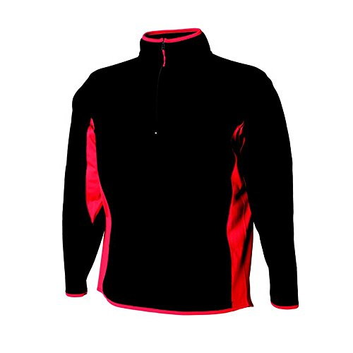 amp; Black Microfleece Finden Panelling With Hales red Side Womens Top Jackets Lightweight OqUvUSdw