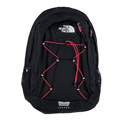 The North Face Womens Jester Backpack - TNF Black/Rose Red