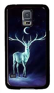 Night Bringer Interactive Black Hard Case Cover Skin For Samsung Galaxy S5 I9600 hjbrhga1544