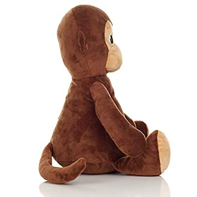 Squirrel Products Cuddle Mates Stuffed Animal Plush Toy - 14 Inch - Monkey: Toys & Games