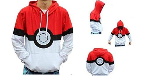 Pokemon Pokeball Hoodie Large -